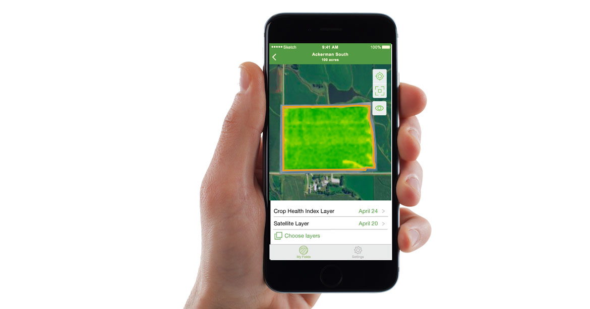 Encirca® services'  Satellite Imagery
