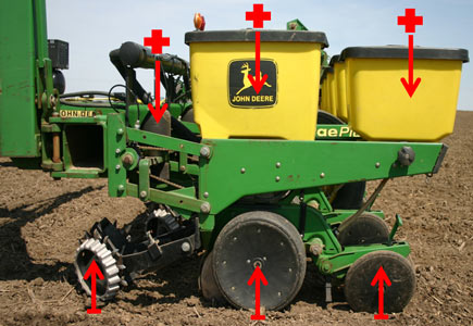 Wiring Diagram For John Deere 7000 Planter : Planter maintenance guide preseason checklist corn setup