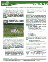 Field Facts is a DuPont Pioneer agronomy publication that provides a quick snapshot of local and regional crop management tips.